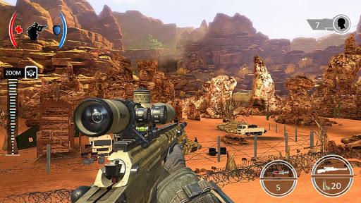 Mountain Sniper Shooting: 3D FPS  screenshots 11