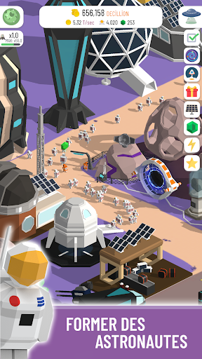 Code Triche Space Colony: Idle apk mod screenshots 2