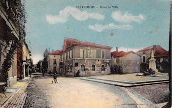 Photo: 82 Septfonds - Carte écrite le 23/03/1939
