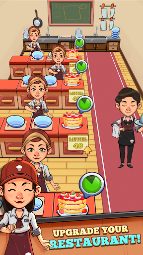 Télécharger Gratuit Idle Cook Tycoon: A cooking manager simulator mod apk screenshots 3