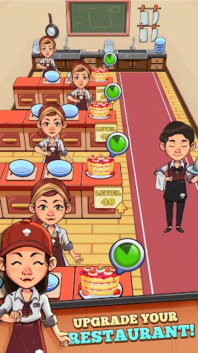 Idle Cook Tycoon: un simulador de gerente de cocina capturas de pantalla 3