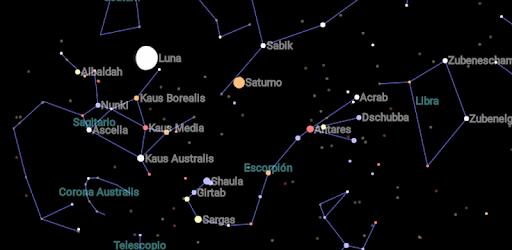 Mapa Del Cielo Nocturno Hoy.Mapa Celeste Aplicaciones En Google Play