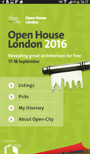 Open House London 2016- screenshot thumbnail