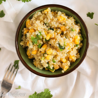 Cilantro Lime Quinoa with Corn and Jalapeno Recipe