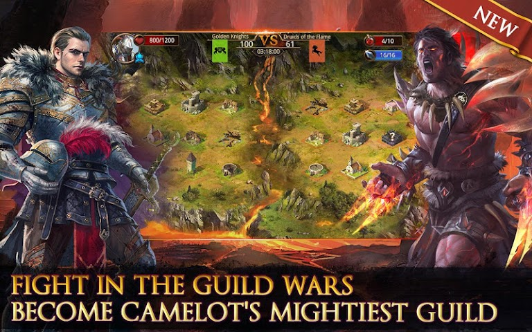 android Heroes of Camelot Screenshot 0