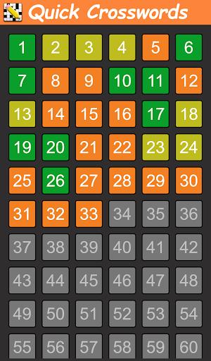 Quick Crosswords (English) apktram screenshots 8