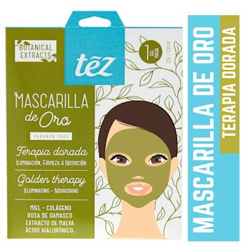 Mascarilla Tez Velo De   Oro Anti edad Facial X100Ml.