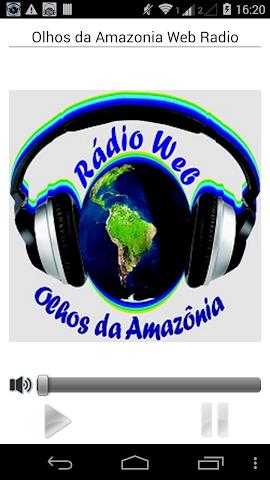 android Olhos da Amazonia Web Radio Screenshot 0