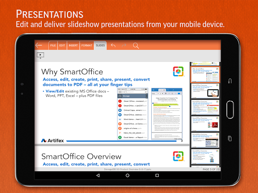 SmartOffice - View & Edit MS Office files & PDFs screenshot 9