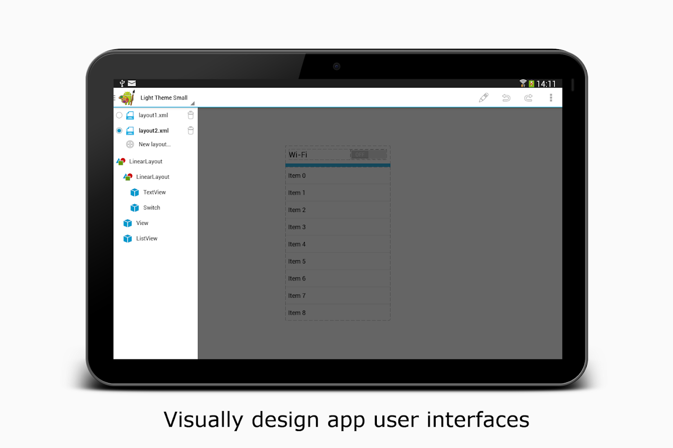 app ui designer screenshot - Android Ui Maker