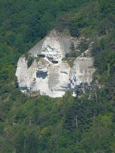 Photo: Le rocher à la tête d'homme