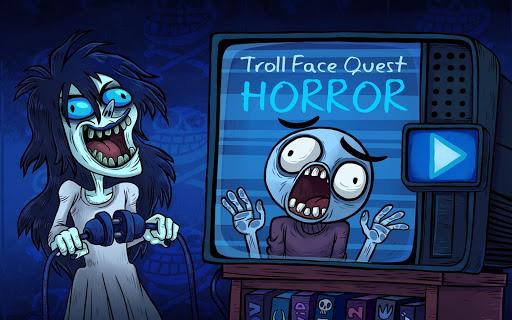 Troll Face Quest: Horror apkpoly screenshots 6