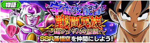 宇宙の支配者と戦闘民族〜超サイヤ人の伝説〜