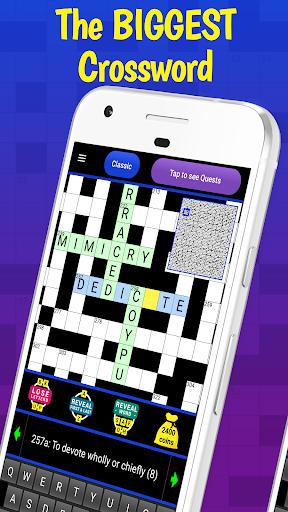 Code Triche The Big Crossword APK MOD screenshots 1