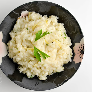 Japanese Lemon Herb Risotto