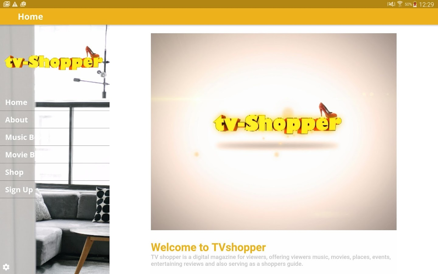 myTVshopper- screenshot