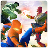 Superhero Fighting Games : Grand Immortal Fight Android APK Download Free By Hero Game Studios