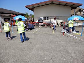 Photo: Posten Bernhardzell mit dem Transportparcours