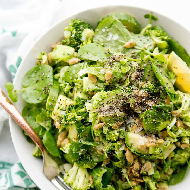 Apple Cider Vinegar & Greens Detox Salad Recipe