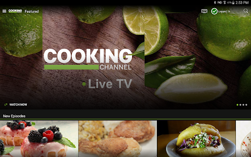 Watch Cooking Channel- screenshot thumbnail