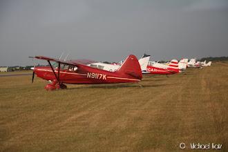 Photo: Flere besøkende fly har allerede ankommet.