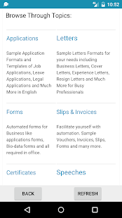 letters of application example