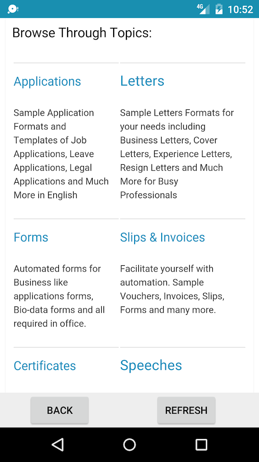 Sample letters applications android apps on google play sample letters applications screenshot spiritdancerdesigns Images