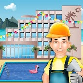 Build An Island Resort: Virtual Hotel Construction