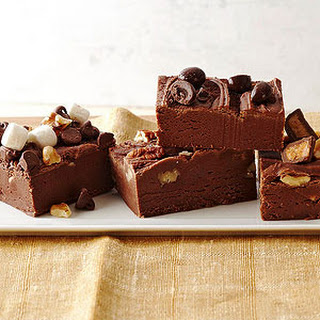 Easy Chocolate Fudge.
