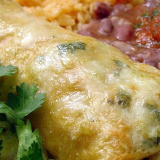 Sour Cream & Chicken Enchiladas