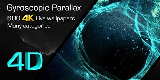 Live Wallpaper 3D--Video Wallpaper HD/4D -- GRUBL™ 1.5.8 screenshots 1