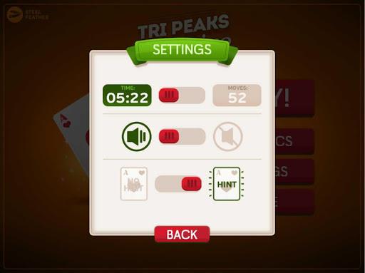 TriPeaks Solitaire 0.1.5 screenshots 8