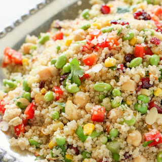 Edamame Quinoa Salad Recipe
