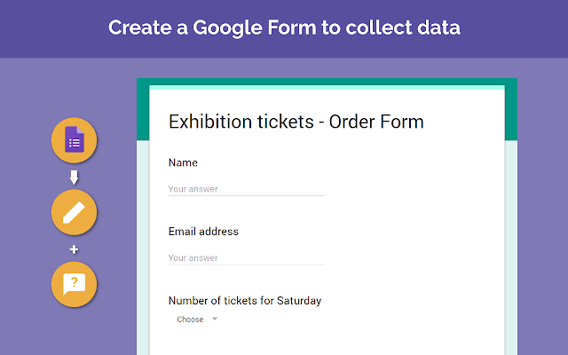 Form Publisher Google Forms addon – Ticket Template Publisher