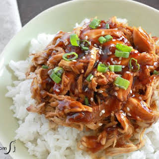 Slow Cooker Honey Garlic Chicken.