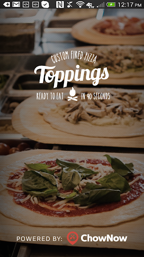 玩旅遊App|Toppings Custom Fired Pizza免費|APP試玩