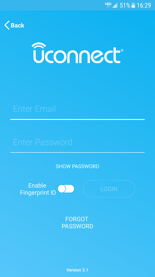 Uconnect®- screenshot