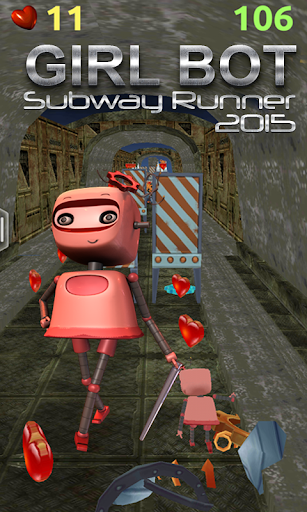 Girlbot Subway runner 2015