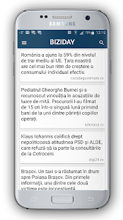 Biziday - Știri verificate- screenshot thumbnail
