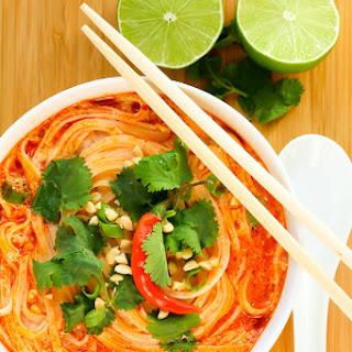 Thai Spicy Noodle Soup.