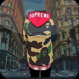 Supreme And Bape Wallpaper HD