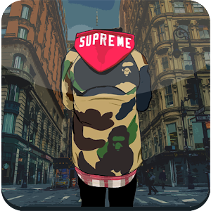 Download Supreme And Bape Wallpaper HD APK Latest Version App For Android Devices