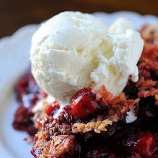 Red Velvet Cherry Dump Cake