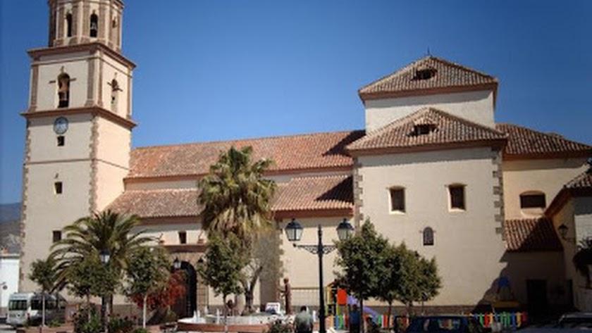 Parroquia de San Sebastián, de Alcolea.