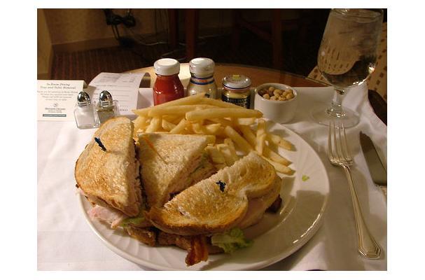 Pesto Club Sandwich Recipe