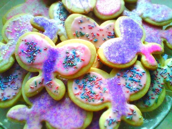 Favorite Cut Out Sugar Cookies Recipe
