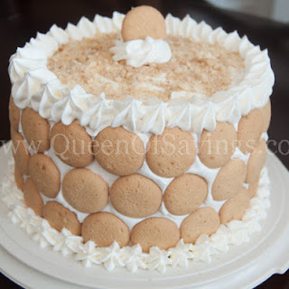 Banana Pudding Cake.