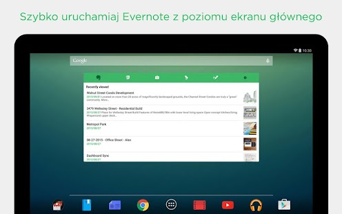 Evernote - Organizator do notatek Screenshot
