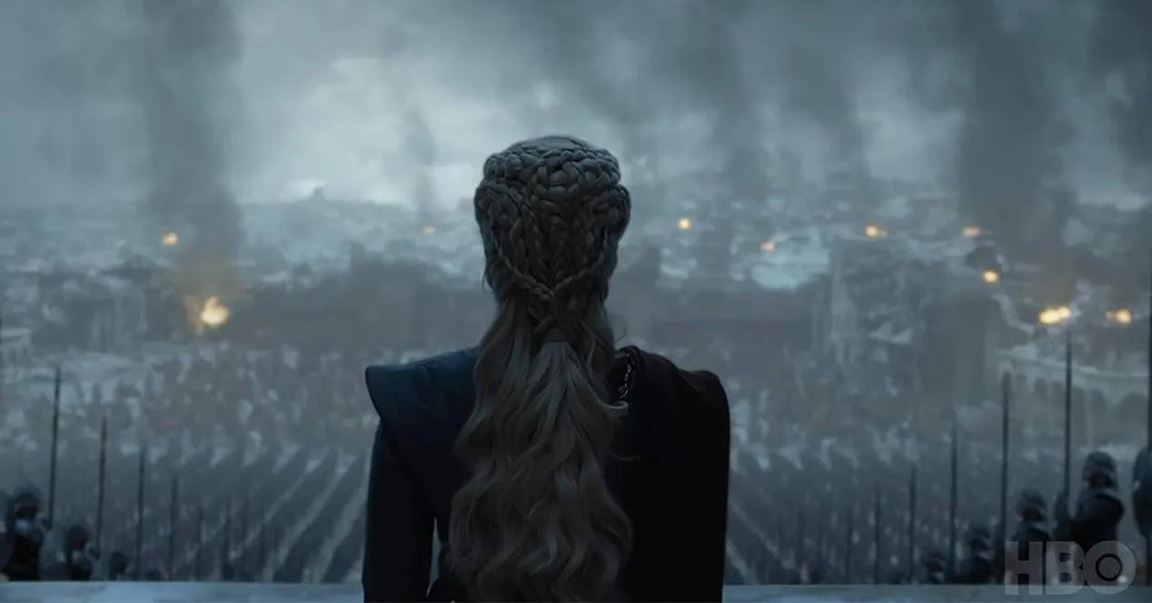 Episodio final de Juego de tronos