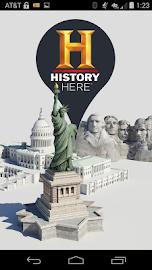 HISTORY Here™ Screenshot 1